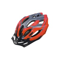 ABUS Aduro Helm grey red