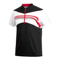 CRAFT Active Bike Loose Fit Jersey Bikeshirt black-red