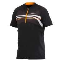 CRAFT Active Bike Loose Fit Jersey Bikeshirt black-tiger