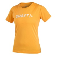 CRAFT Active Run Logo Tee Women Laufshirt Damen tiger