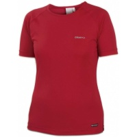 CRAFT Active Run Tee Women Laufshirt Damen red