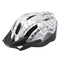 KED Flitzi Helm silver white