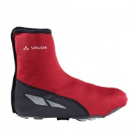 VAUDE Shoecover Matera red/black