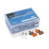 XLC BP-O07 Brake Pads in 25er Werkstattbox orange Tektro...