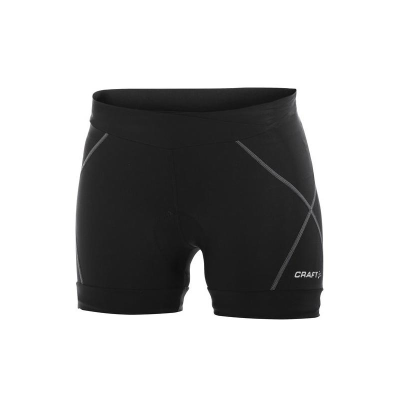 CRAFT Active Bike Hot Pants Women Damen Radhose black/steel, 56,90 &e